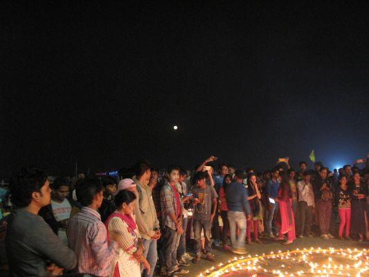 Notre Mandala lors de Dev Divali